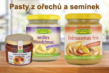 Ořechové a semínkové krémy
