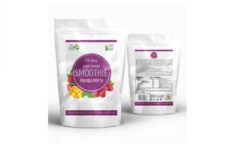 Fit-Day Smoothie Mango-Berry 90 g